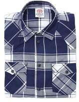 Franklin & Marshall Men's Blue Cotton Shirt.
