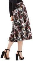 Topshop Women's Ramble Print Midi Skirt