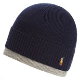 Polo Ralph Lauren Men's Merino Wool Cap - Blue