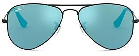 Ray-Ban Junior Unisex Pilot Sunglasses, 50mm