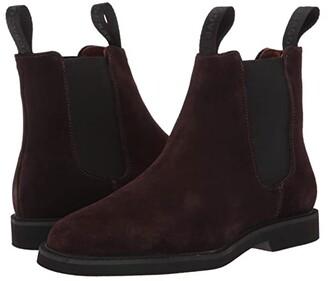 Sebago Chelsea Suede Polaris (Dark Brown) Women's Shoes