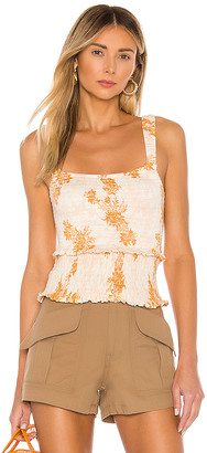 Free People Hannah Printed Cami
