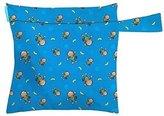 Charlie Banana Washable Diaper Tote Wet Bag (Monkey Doo) by