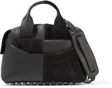 Alexander Wang Rogue suede and leather shoulder bag