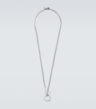 Alexander McQueen Double sautoir necklace with rings