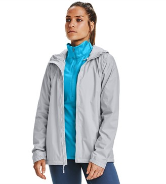 Under Armour Women's Forefront Hooded Rain Jacket