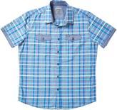 Point Zero Men's Yarn-Dyed Dobby Shirt