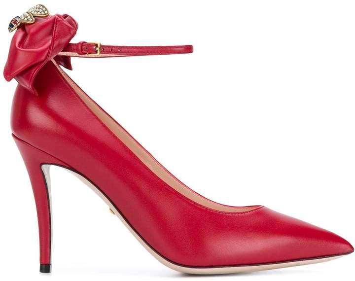 b1511a65e Gucci Red Pumps - ShopStyle