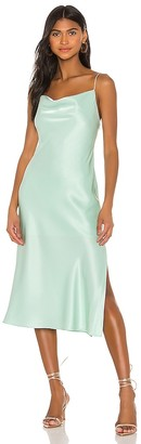 Alice + Olivia Harmony Drop Slip Midi Dress