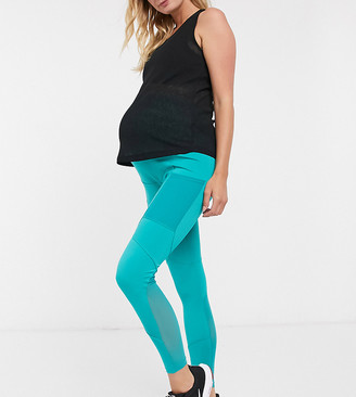 ASOS 4505 Maternity icon legging with bum sculpt seam detail and pocket