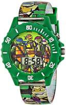 Nickelodeon Teenage Mutant Ninja Turtles Kids' TMN4085 Digital Display Green Watch