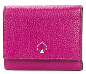 Kate Spade Small Polly Tri-Fold Leather Wallet