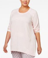 Alfani Plus Size High-Low Pajama Tunic, Only at Macy's