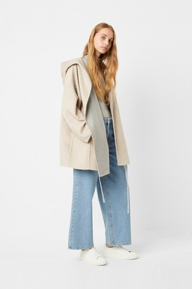 French Connection Daralicia Wool Hooded Jacket