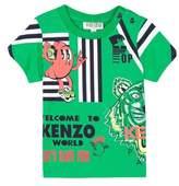 Kenzo Cartoon Graphic T-Shirt