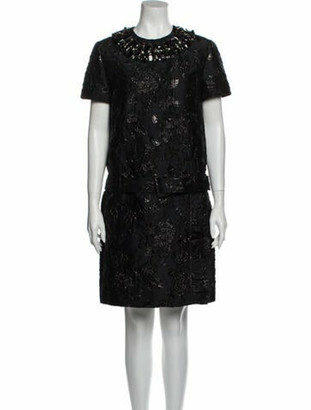 Prada 2018 Mini Dress Black
