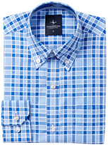 Tailorbyrd Woven Royal Blue Dress Shirt (Big Boys)