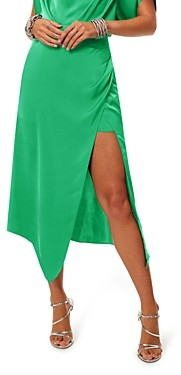 Ramy Brook Leigh Side Slit Midi Skirt
