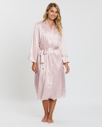 Papinelle Pure Silk Robe