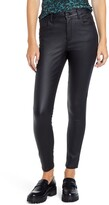 Thumbnail for your product : STS Blue Ellie Coated High Waist Ankle Skinny Jeans
