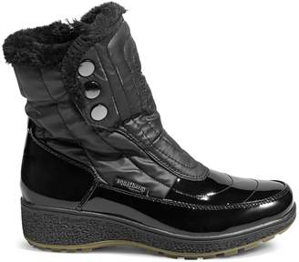 Aquatherm By Santana Canada Harper Faux Fur-Lined Button Winter Boots