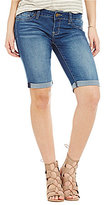 YMI Jeanswear Luxe Denim Bermuda Shorts