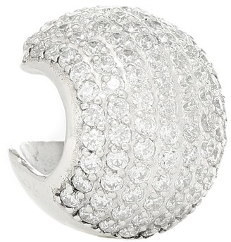 Alan Crocetti Encrusted Sphere 15 sterling silver ear cuff