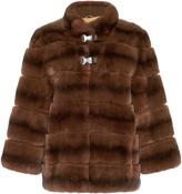 Lysa Lash Furs Cruz Metal Clip Fur Jacket