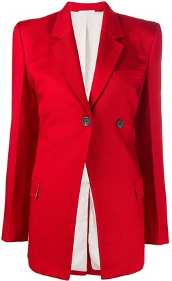 Peter Do Fitted Button Up Blazer