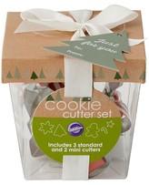Wilton 5Pc Gift Box Cookie Cutter Set