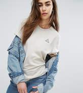 Le Coq Sportif Exclusive To Asos Tricolour T-Shirt In Neutrals