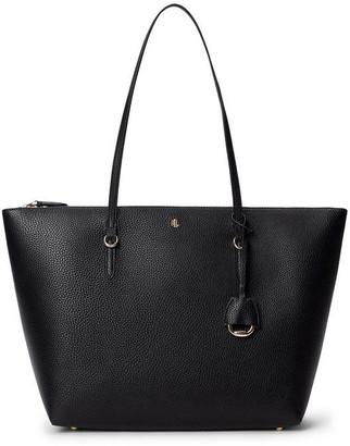 Lauren by Ralph Lauren Vegan Leather Keaton Tote Bag