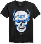 New World Men's WWE Stone Cold Steve Austin Skull Graphic-Print T-Shirt