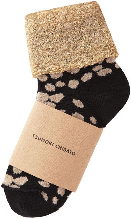 Tsumori Chisato animal dot socks