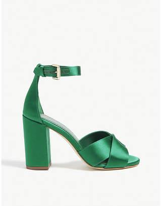Maje Forigama satin heeled sandals