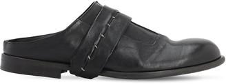 Ernesto Dolani 20mm Leather Loafers W/ Detachable Strap