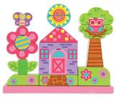 Stephen Joseph Flower Wooden Stacking Toy Set