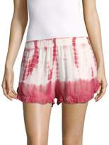 Young Fabulous & Broke Romy Tie-Dye Printed Shorts