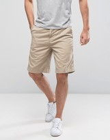 Polo Ralph Lauren Straight Chino Shorts Polo Logo In Beige