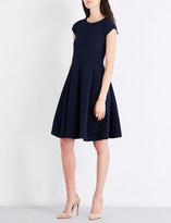 Armani Collezioni Textured jersey dress