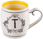 """Home Essentials Monogram """"T"""" Mug"""