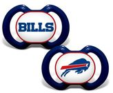 Baby Fanatic NFL Buffalo Bills 2-Pack Pacifiers