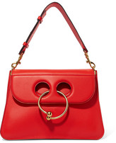 J.W.Anderson Pierce Medium Leather Shoulder Bag - Red