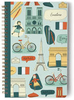 Minted A Little Paris Day Planner, Notebook, or Address Book