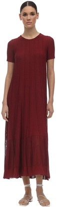 Agnona Viscose & Cotton Knit Dress