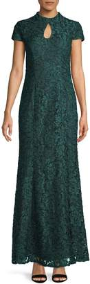 Alex Evenings Keyhole Lace Gown