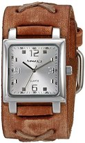Nemesis Unisex 516BFXBS-S Lite SQ Series Analog Display Japanese Quartz Brown Watch