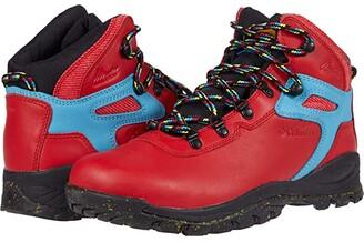 Columbia Newton Ridgetm Luxe (Bright Red/Black) Men's Shoes