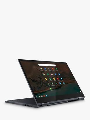 "Lenovo YOGA C630 81JX000GUK Convertible Chromebook, Intel Core i3 Processor, 8GB RAM, 64GB eMMC, 15.6"" Full HD, Midnight Blue"