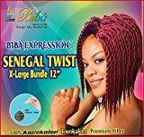 "Biba Expression Senegal Twist X-Large Bundle 12"" (#4(Light Brown))"